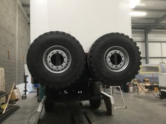 Spare Wheel mount